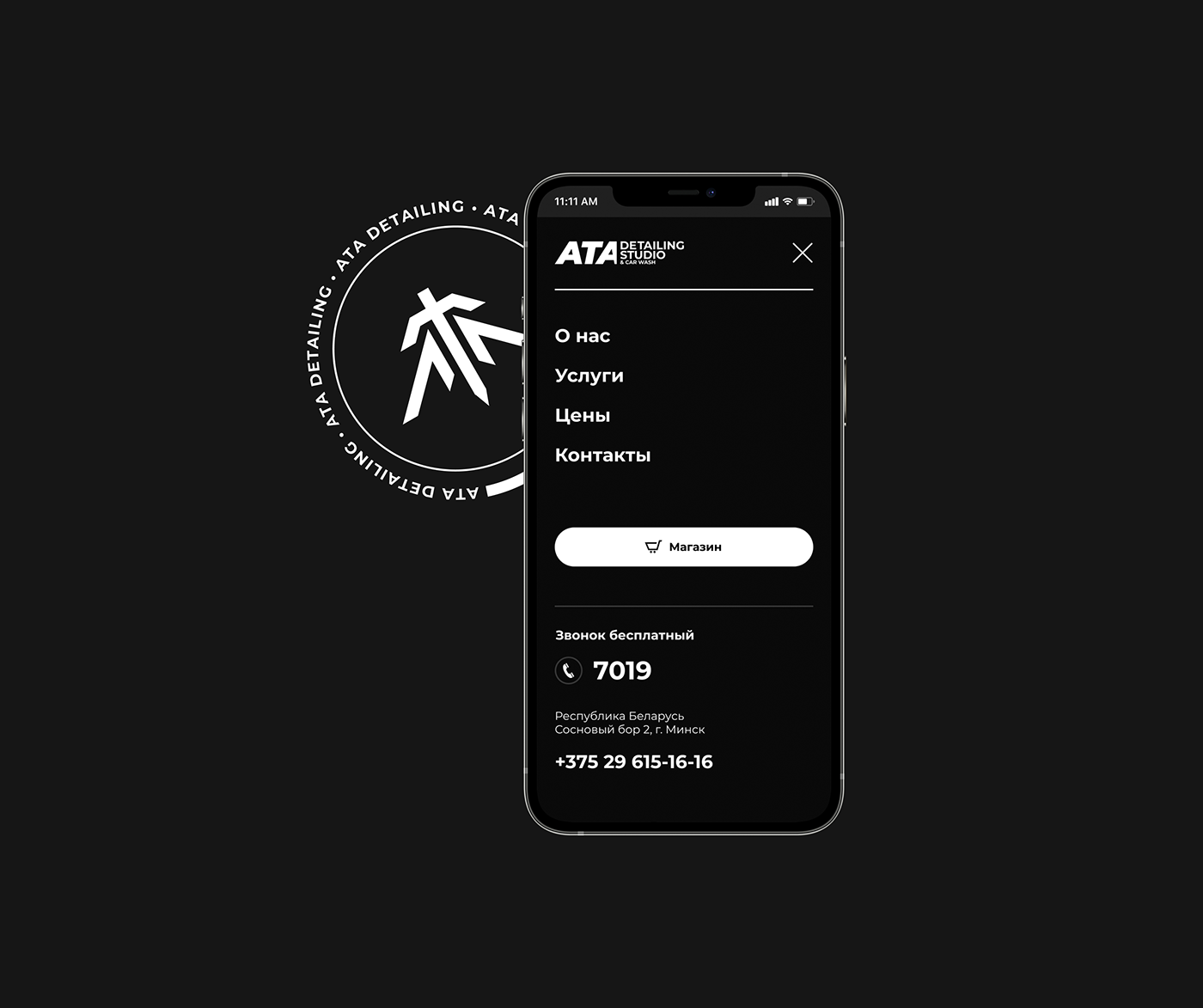 brand identity Cars Carwash detailing identity Logo Design UI ux Website