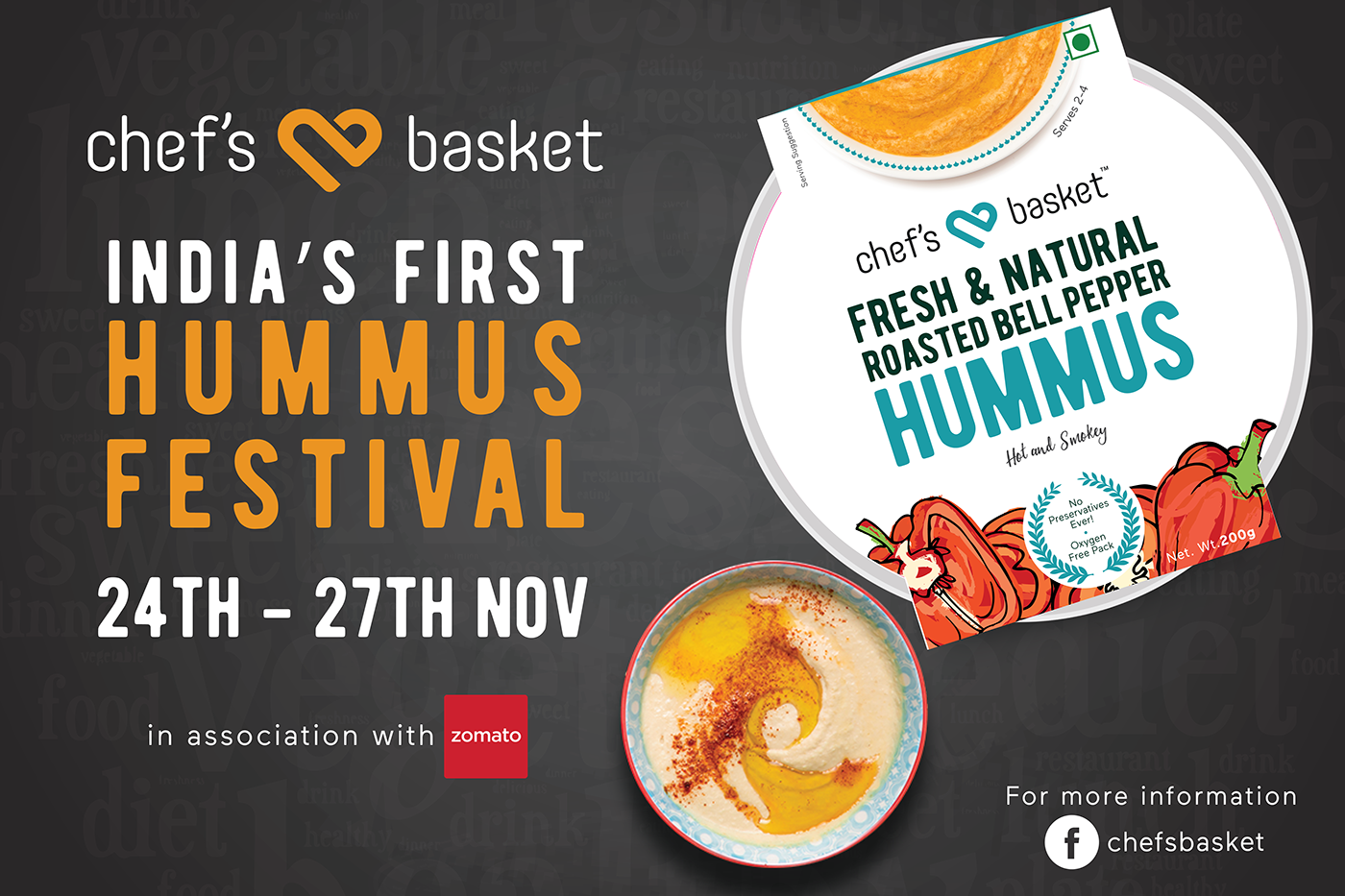 India s first hummus festival on behance