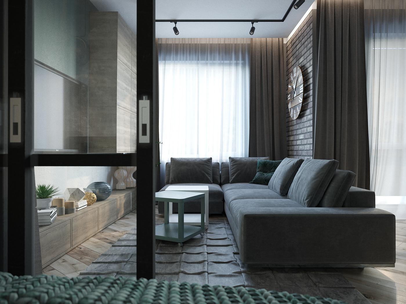 Interior interior design  Vizualization