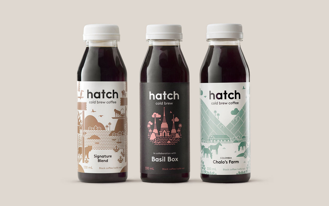 Packaging Coffee Cold Brew beverage food and drink branding  Vector Illustration ILLUSTRATION  art direction  Photography