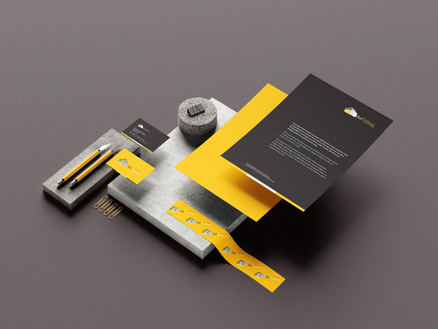 branding  building design identity logo