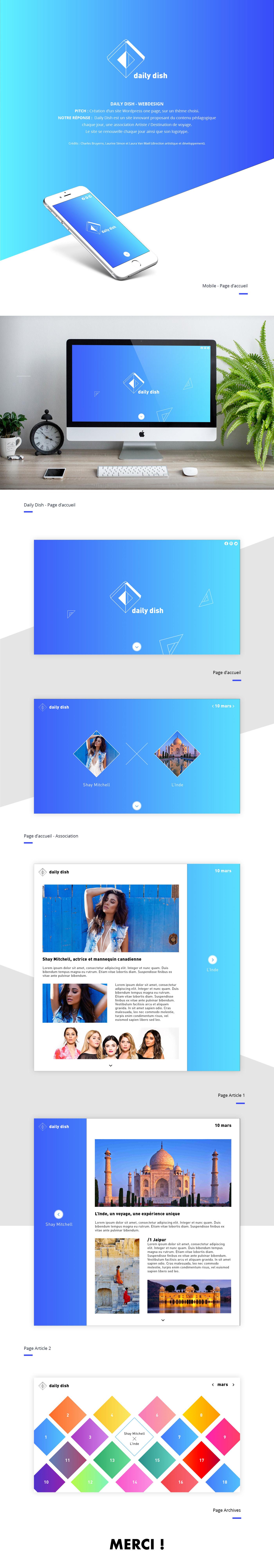 Web Website artisticdirection UI ux design
