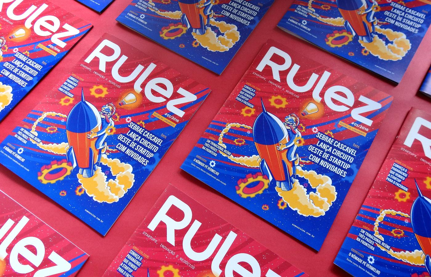 magazine revista editorial Startup rulez business launcher lançadora