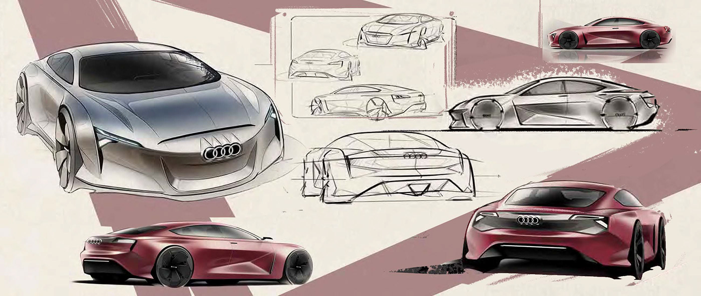 Image may contain: land vehicle, sketch and vehicle