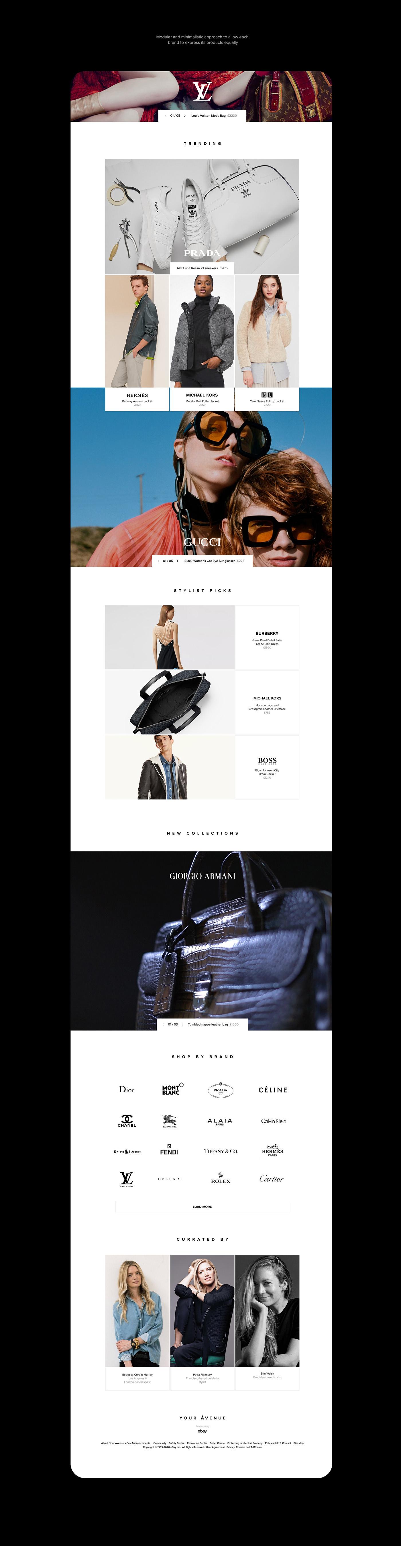 branding  brands e-commerce Fashion  luxury Marketplace Responsive ui design ux Website Design