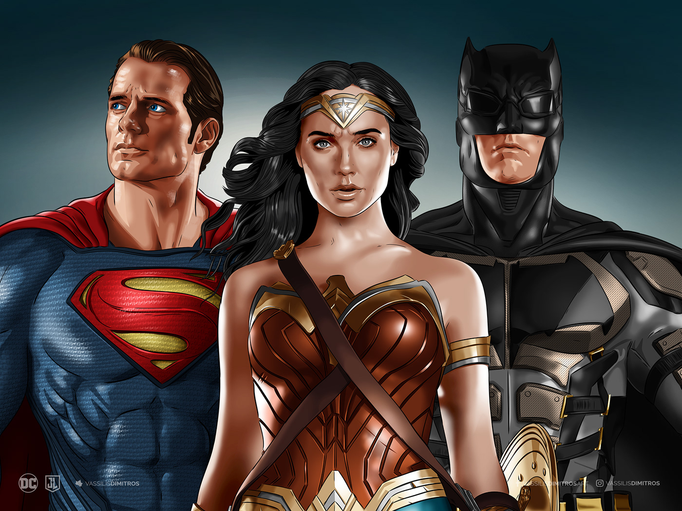 Justice League Wallpaper Giveaway On Behance
