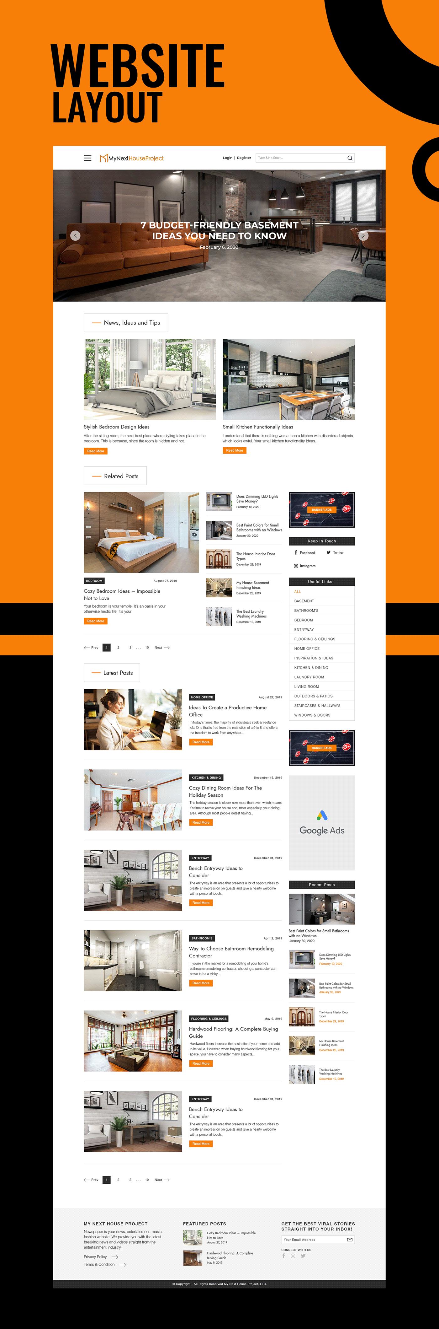 layoutdesign uiux websitedesign