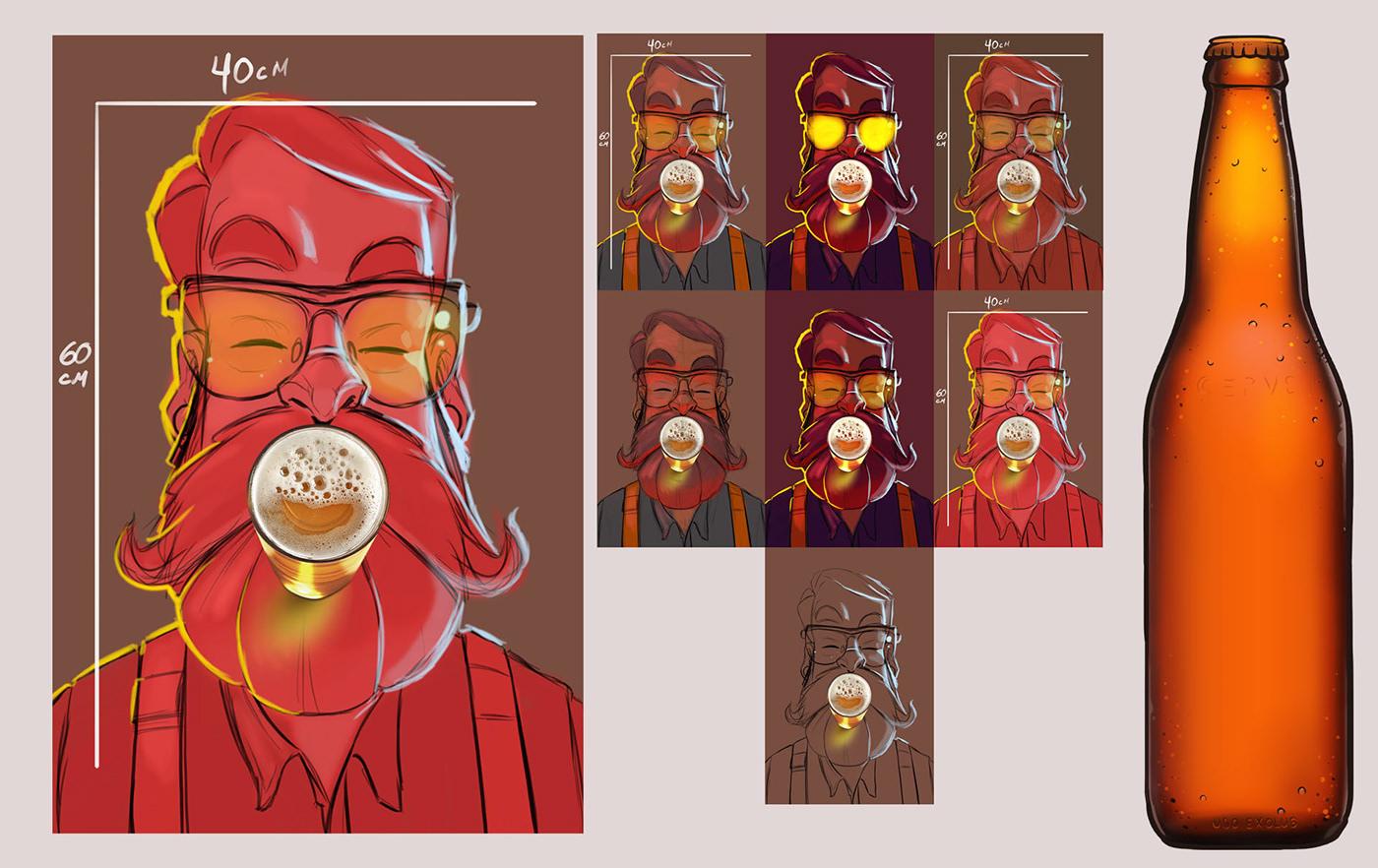Character beer Serramalte rock Archive