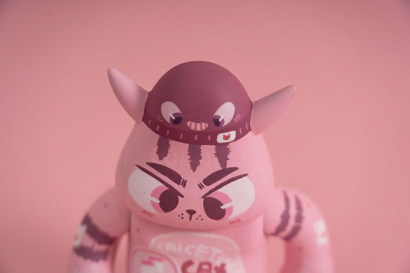 arttoy Character Custom customart paint sculpture toy