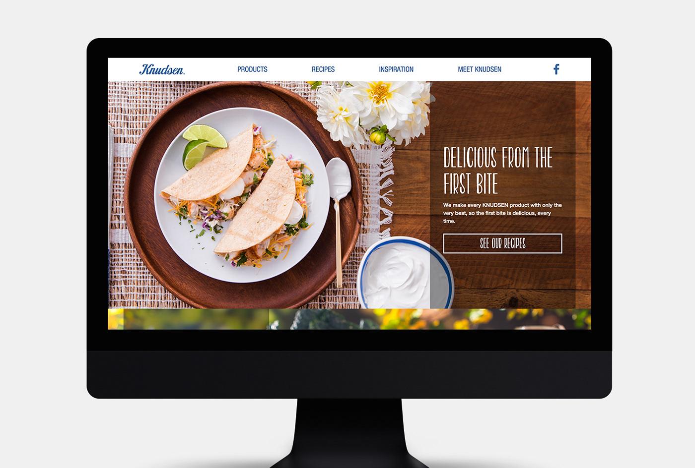 brand refresh,Web Design ,art direction ,UI,brand website,cpg