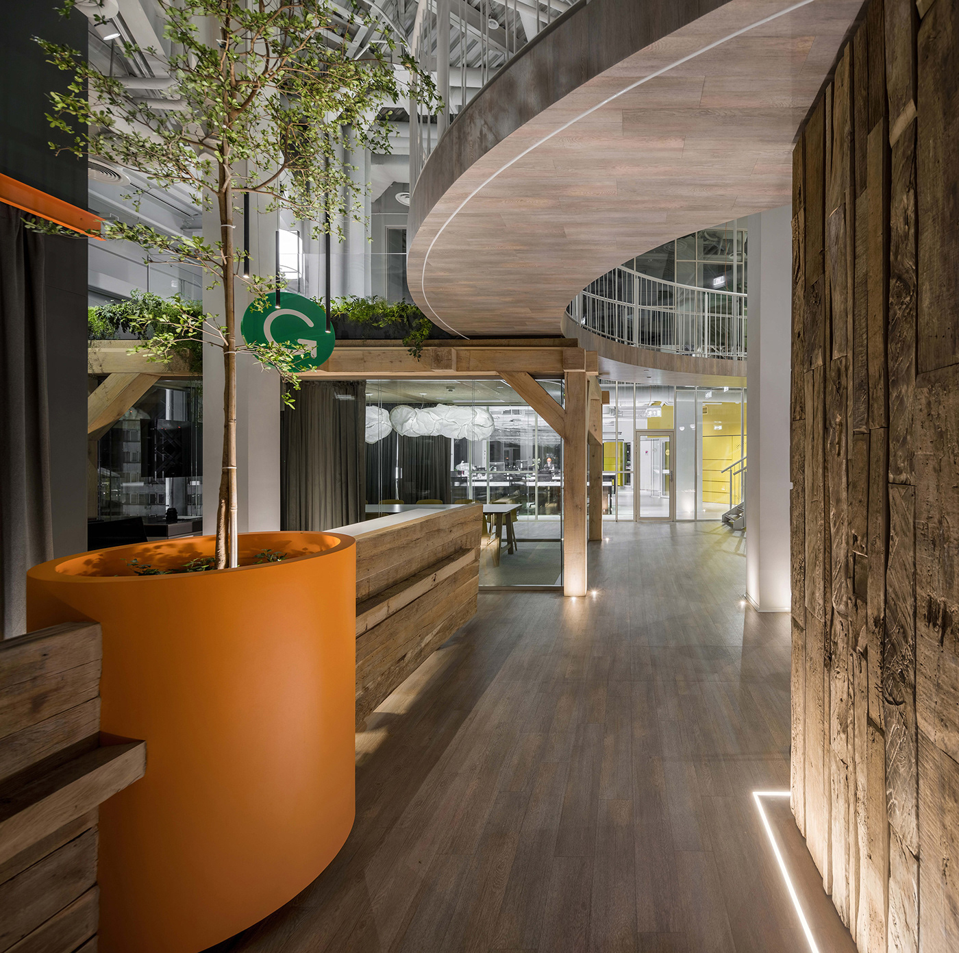 Office Office interior office architecture product design  meeting room lounge eco friendly Interior Architecture balbek grammarly