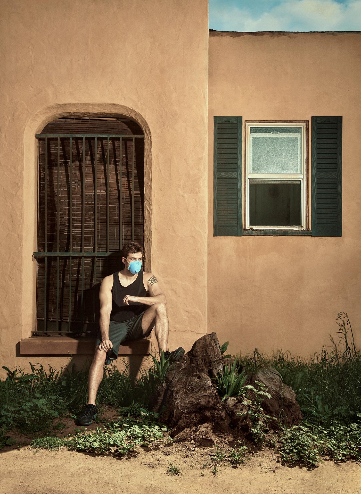 Coronavirus COVid COVID19 editorial masks street photography high end retouching