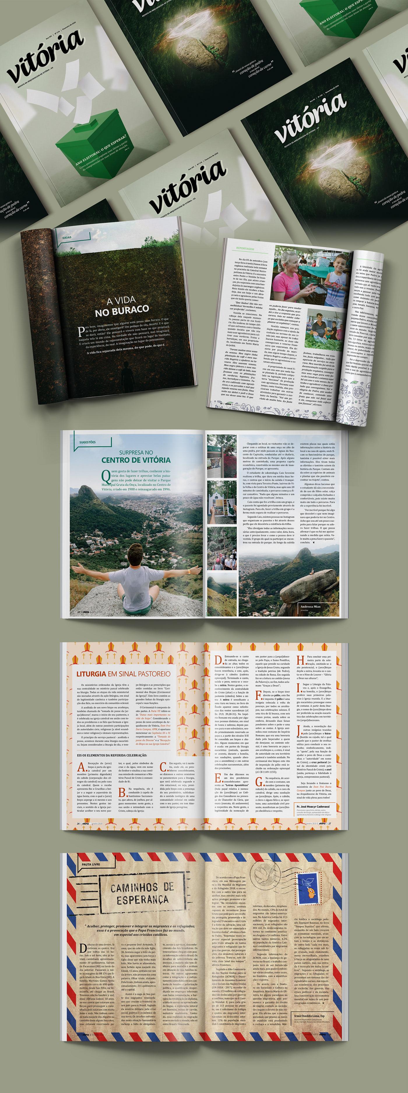 church diagramação InDesign magazine Mitra Paulo Arrivabene pauloarrivabene revista Vitoria
