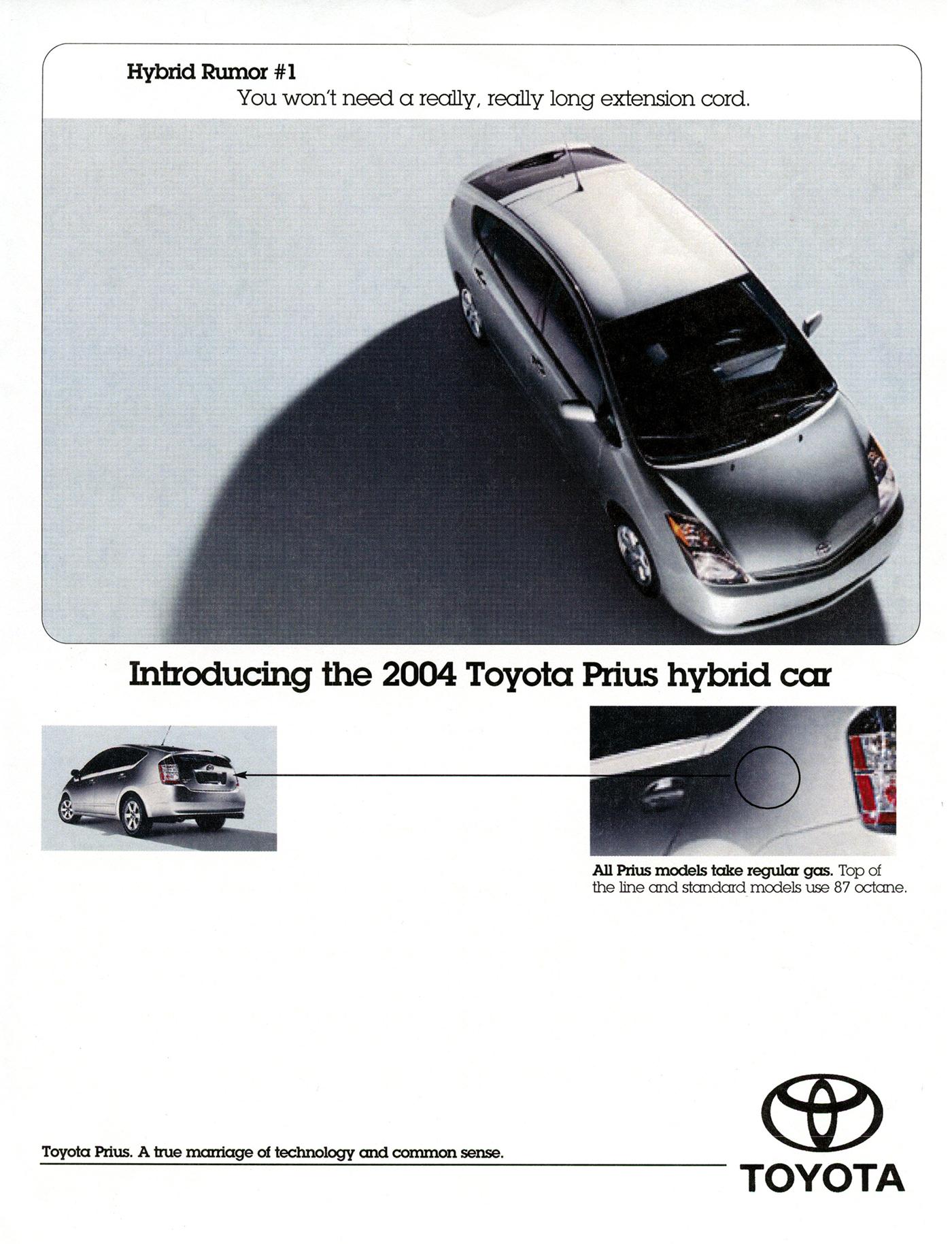 toyota prius advertisement