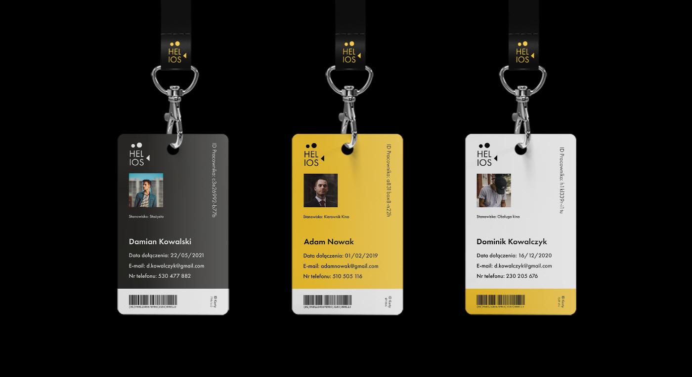 application Cinema graphic design  helios polska interaction rebranding UI ux visual identity Website