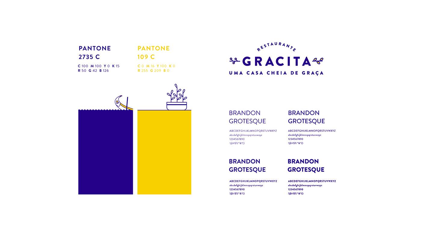 branding  Food  restaurante art direction  ILLUSTRATION  restaurant marca Branding Restaurant branding restaurante graphic design