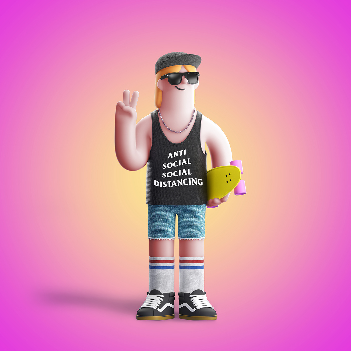 gif animation  Character design 3D CG motion 3D Character human people