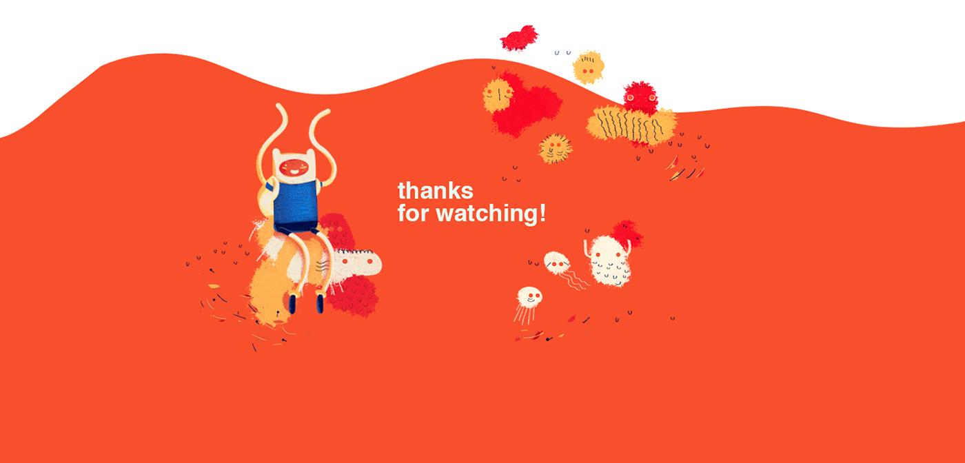 Adventure Time Fan Art monoblock cartoon network