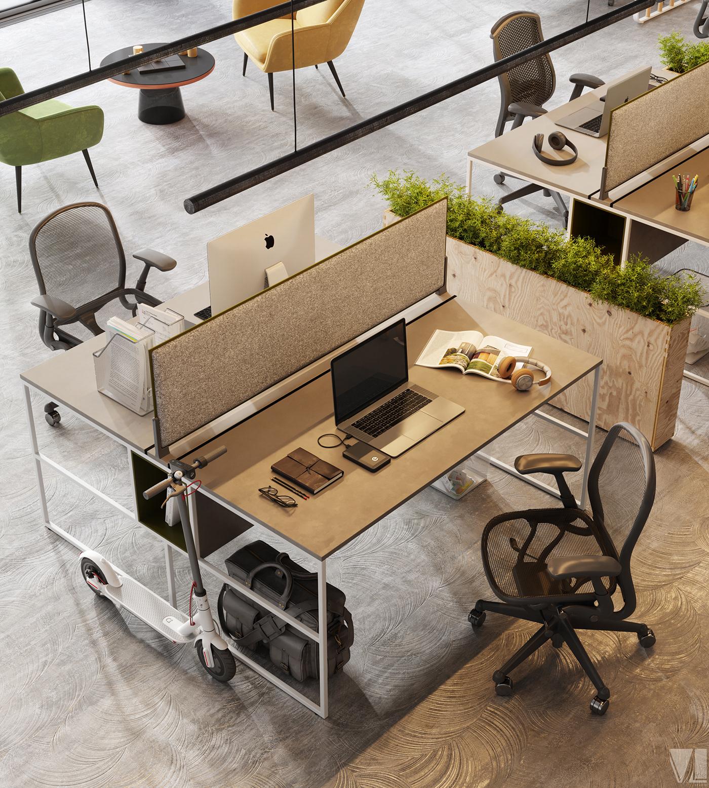 VizLine Studio,Logistics,design,visualization,3dmax,photoshop,CoronaRender ,industrial design ,Office Design,Tradre