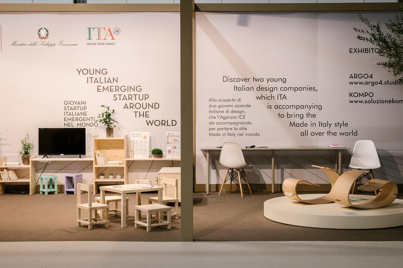Interior Design Fai Da Te salone del mobile 2019 on behance