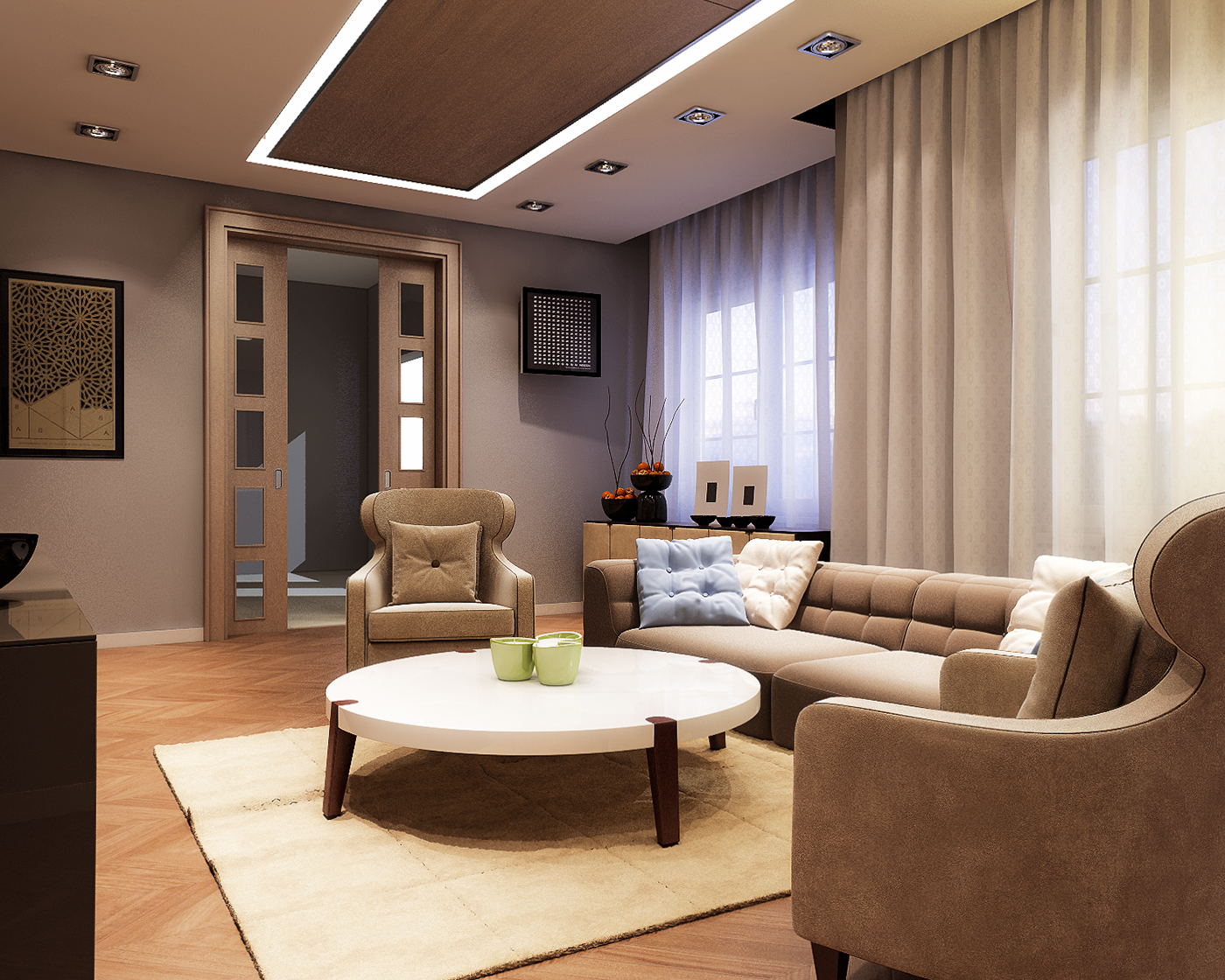 Familly residence abuja nigeria on behance for Interior decoration nigeria