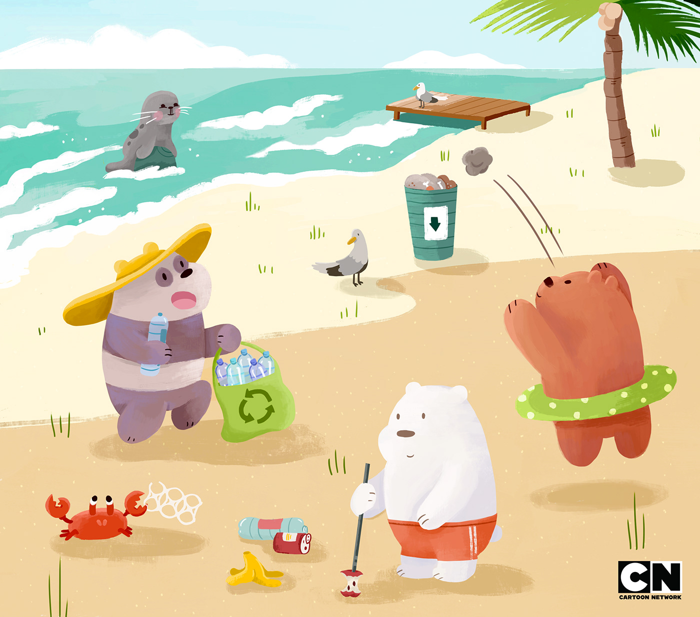 Cartoon Beach : Download 62,000+ royalty free cartoon beach vector images.
