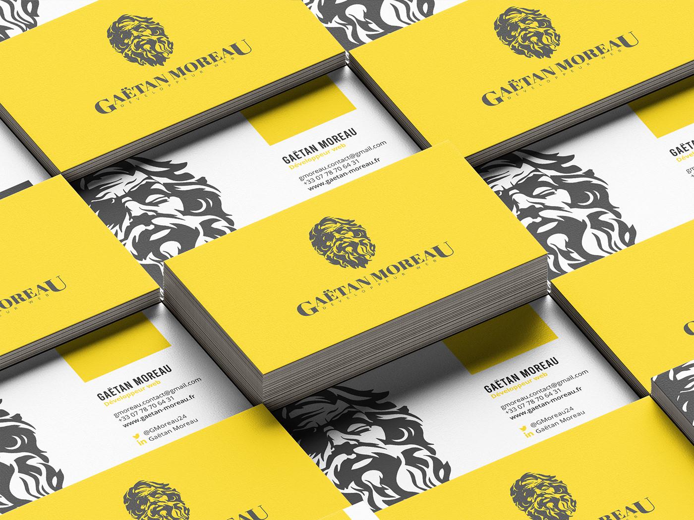 brand identity business développement web direction artistique graphisme identité visuelle identity Logo Design Logotype visit card