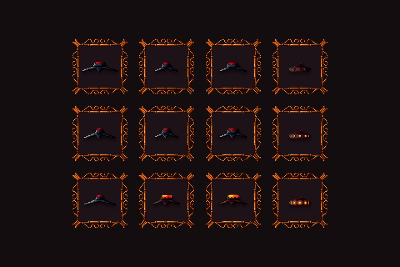 art assets Character game pixel pixelart