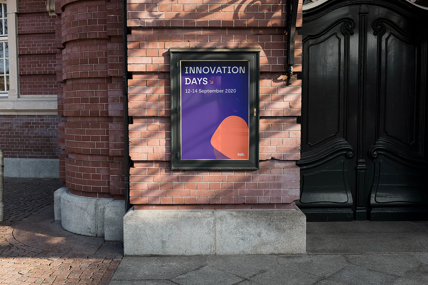 tak innovation posters on the wall
