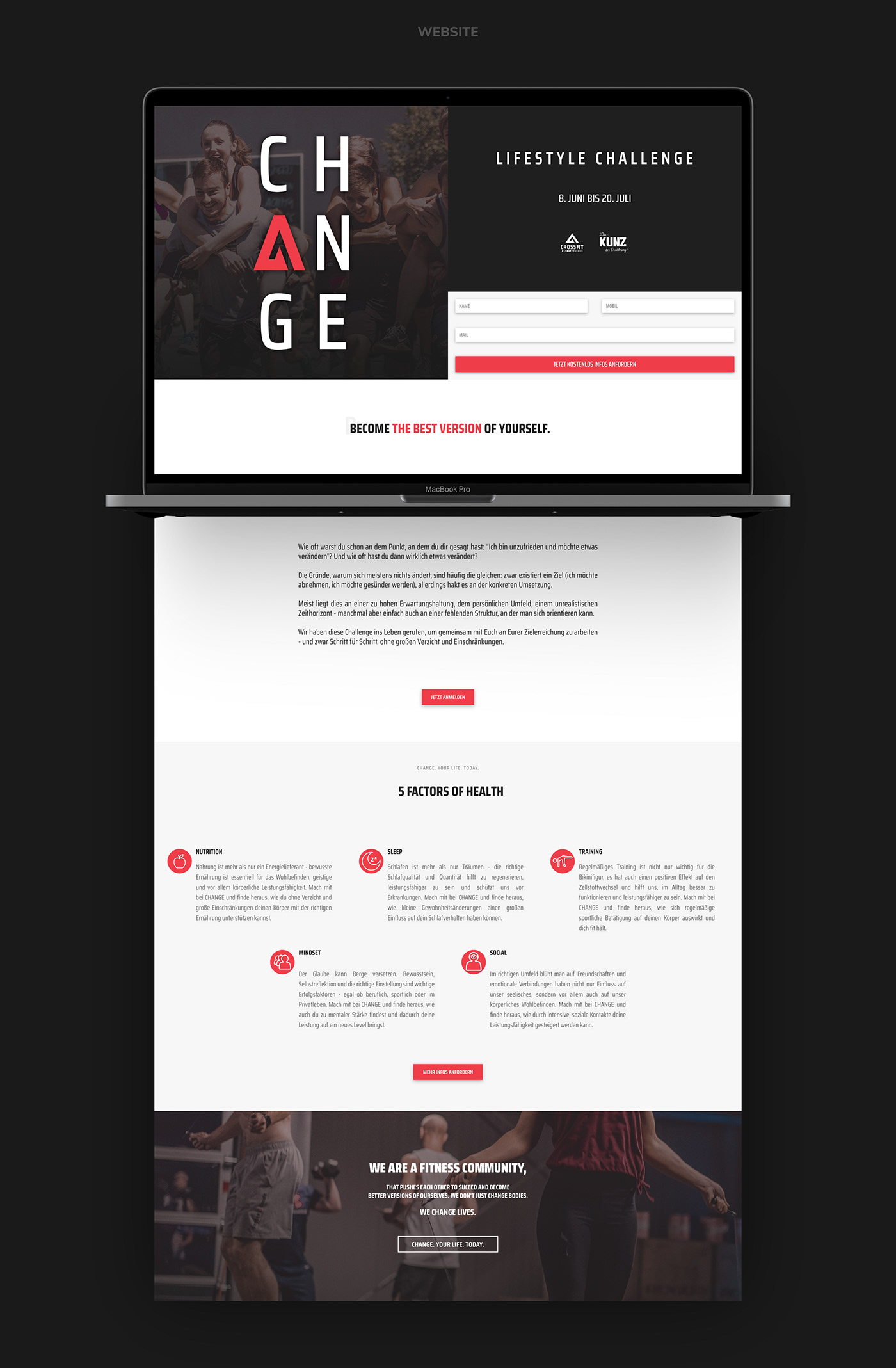 CROSSFIT ASCHAFFENBURG // Website