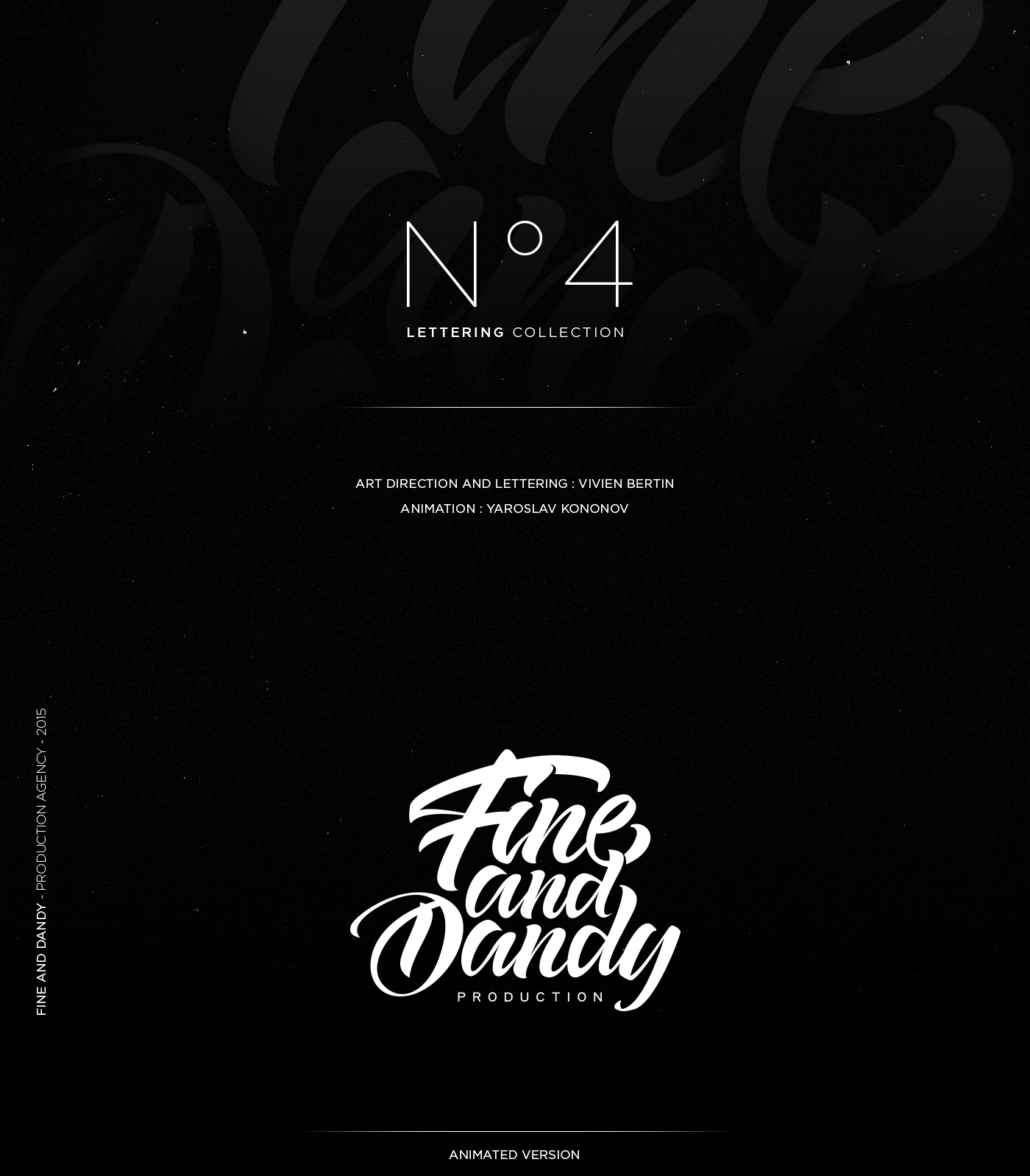 lettering Hand letterin type handtype font brush typo logo motion design Animated Logo sketches ink identity brand