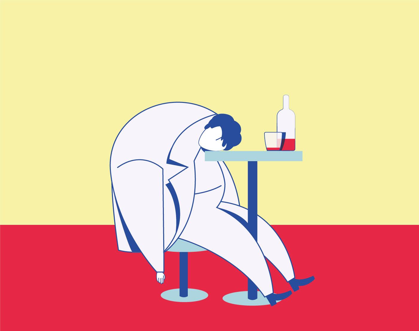 illustrazione graphoc design Fabrizio De Andrè