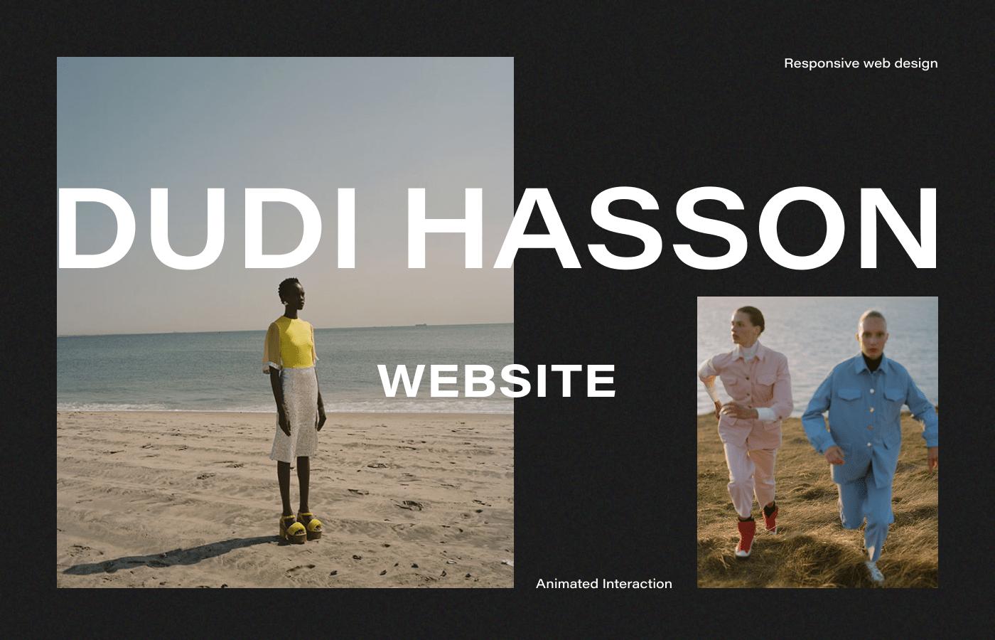 animation  Fashion  Interface minimal photographer portfolio UI ux Webdesign Website
