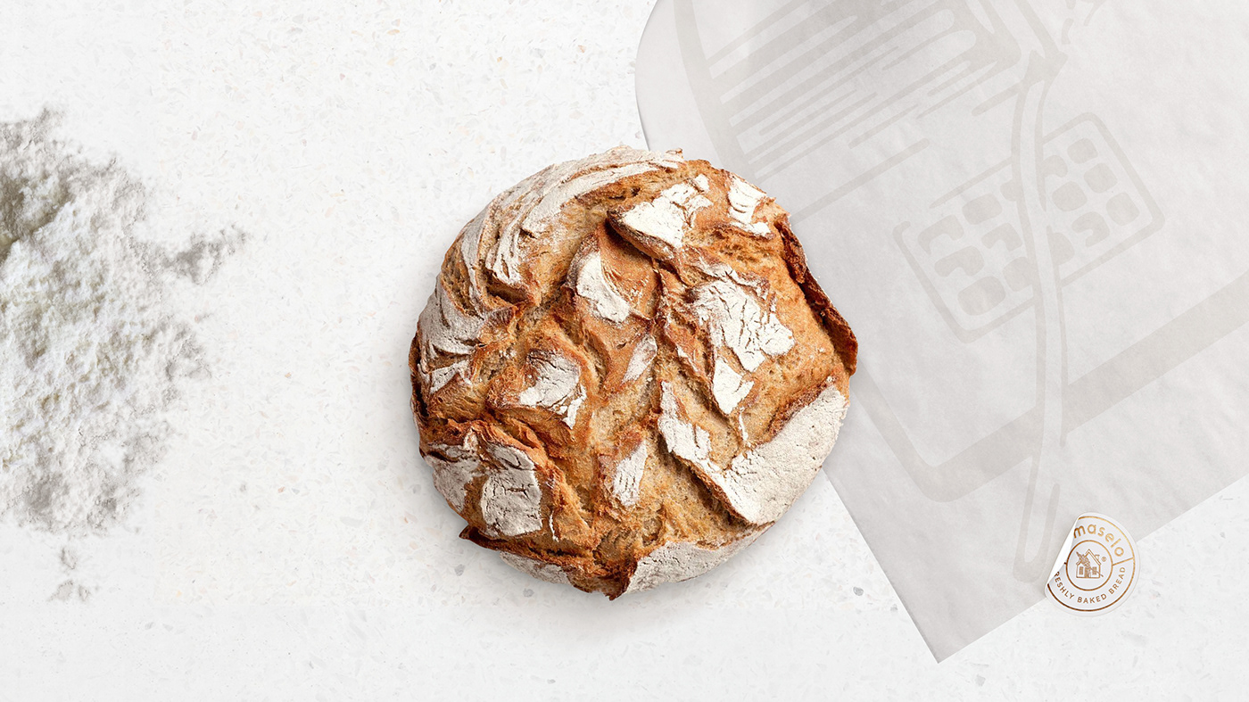 bakery branding  bread eco Food  house logo miami natural organic