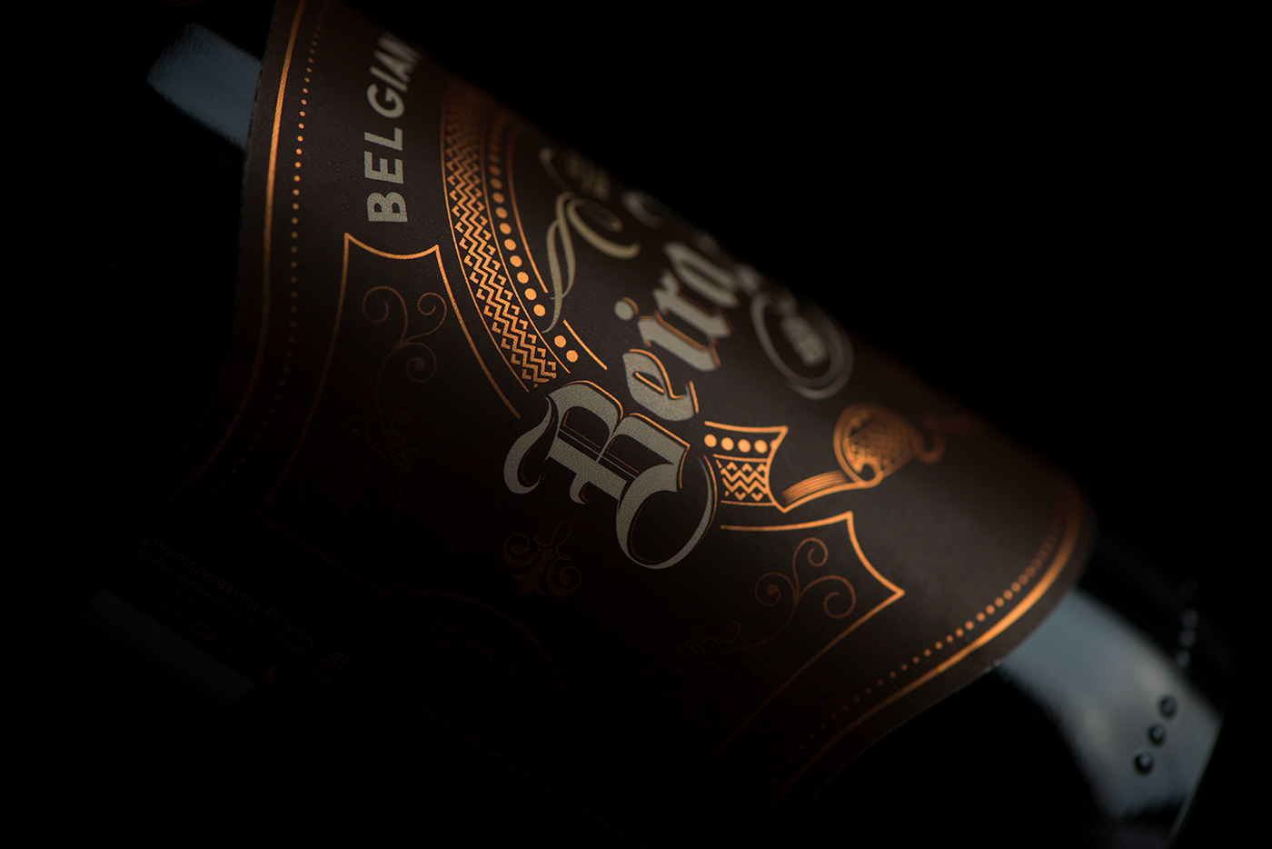 Adobe Portfolio beer Packaging Label design premium ornament Unique Portugal Coimbra