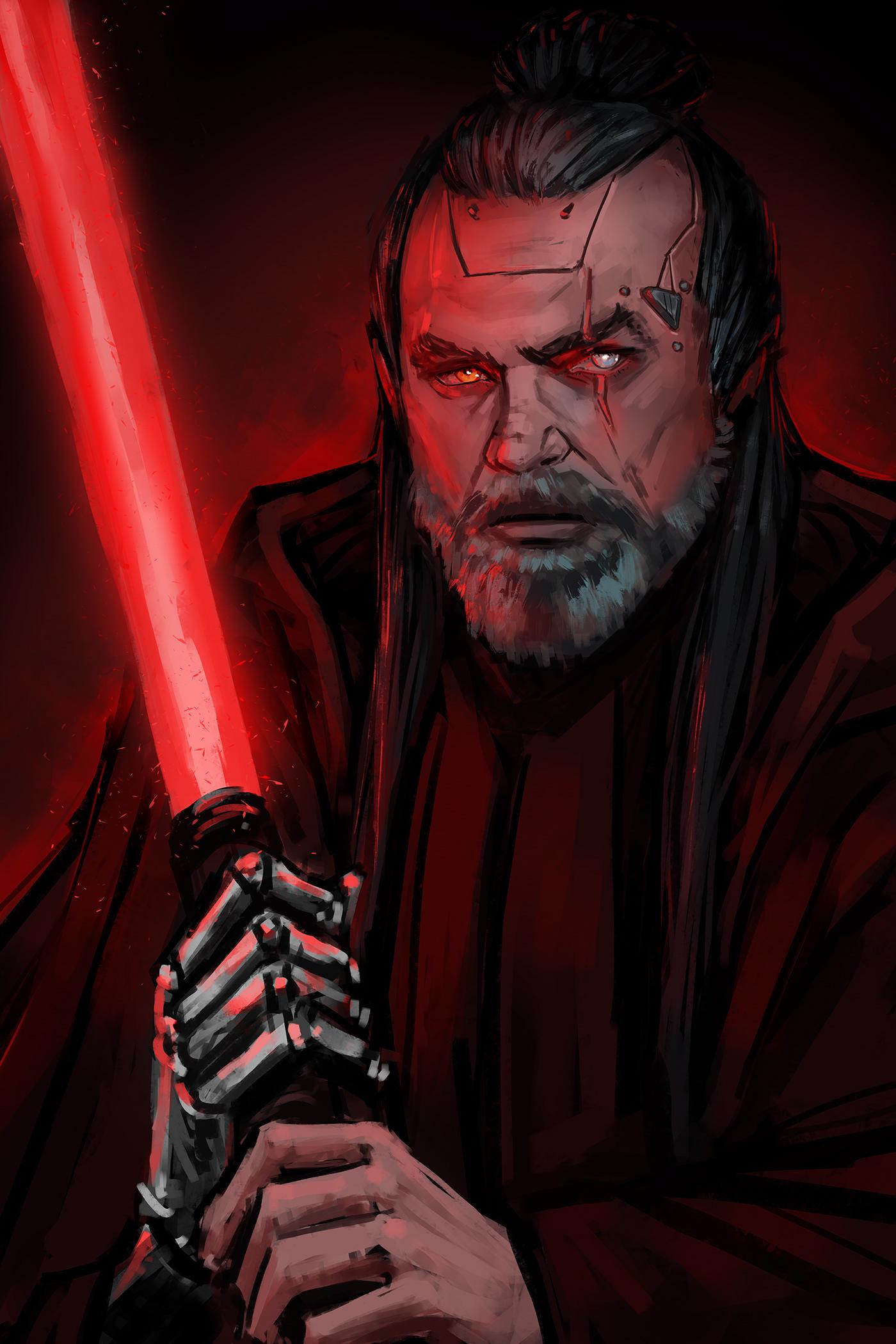 Star Wars Fan Art On Behance