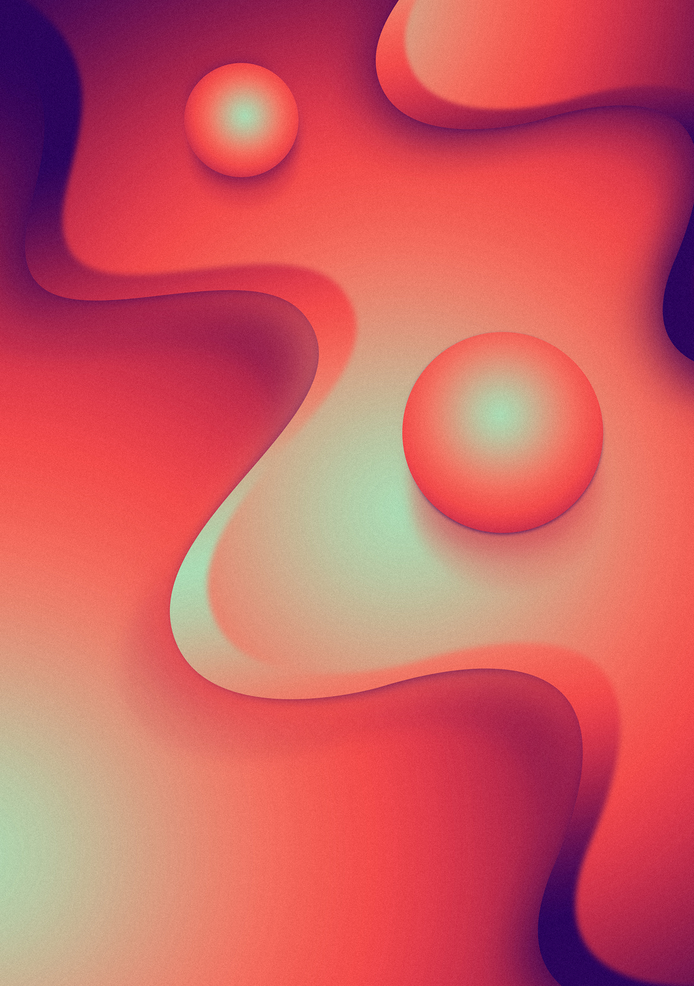 Gradient Exploration with Radial Series