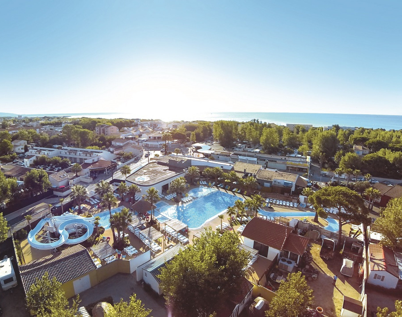 camping campsite france luxury Riviera tourism Travel