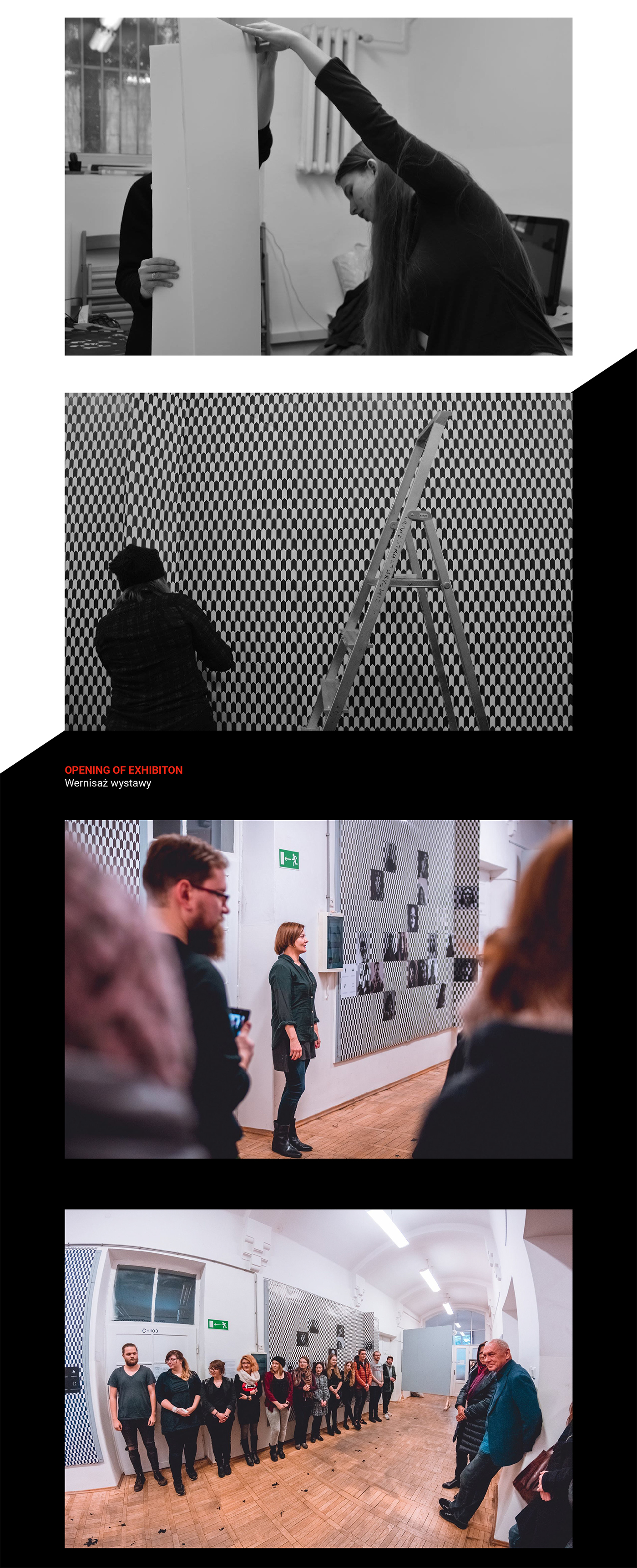 AR Exhibition  newmedia interaction pattern tapestry motiondesign setdesign interactive student