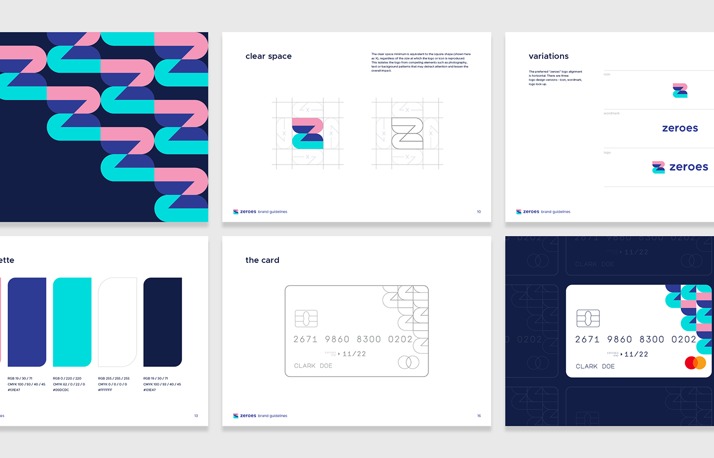 mobile bank brand usage guidelines showing how the brand is made