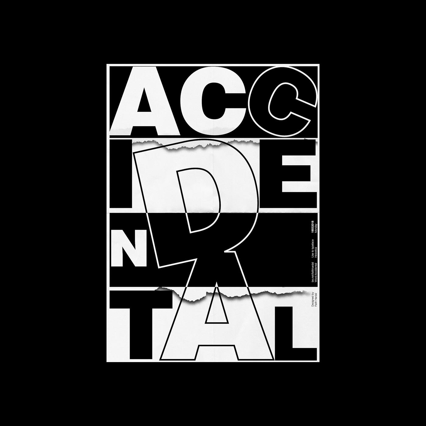 typographic poster typography   poster swiss design design print noise gradient helvetica black editorial