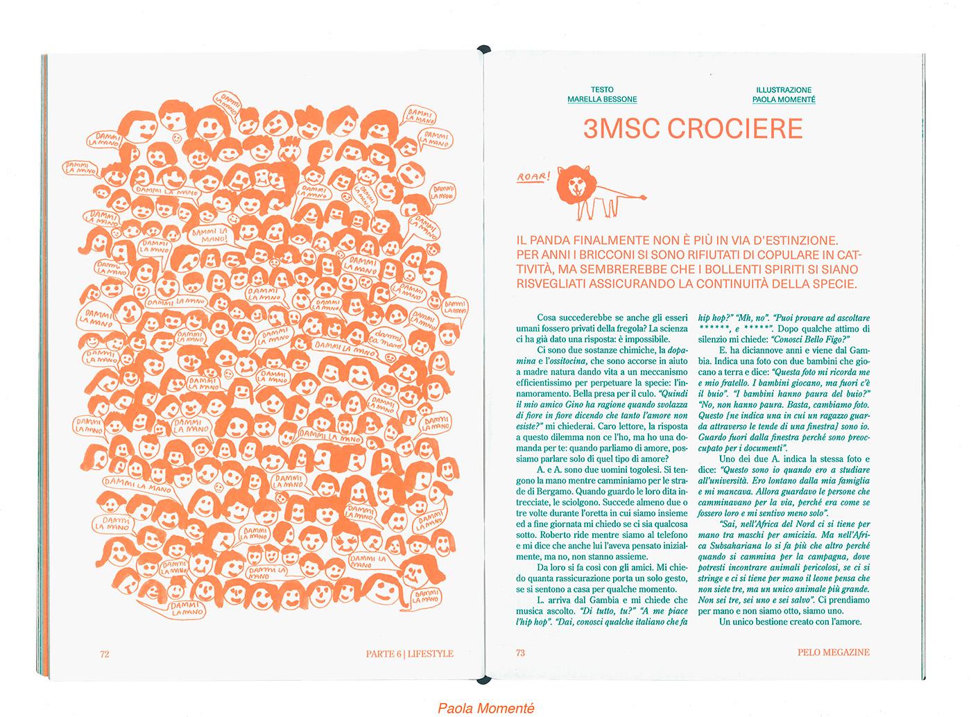 ILLUSTRATION  magazine fanzine Illustrator book editorial Collective