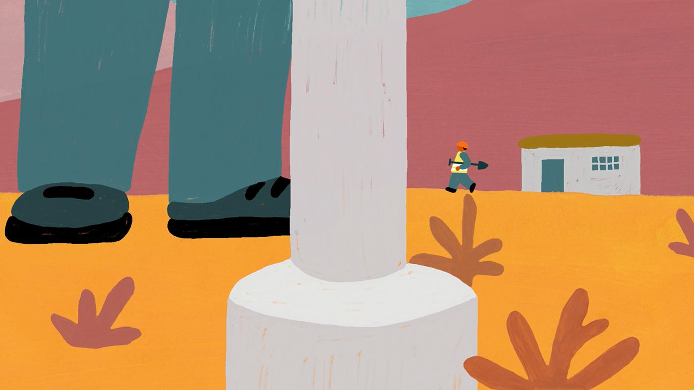 animation  animator belaunclecat ILLUSTRATION  Illustrator musicvideo society video water yuliadrobova