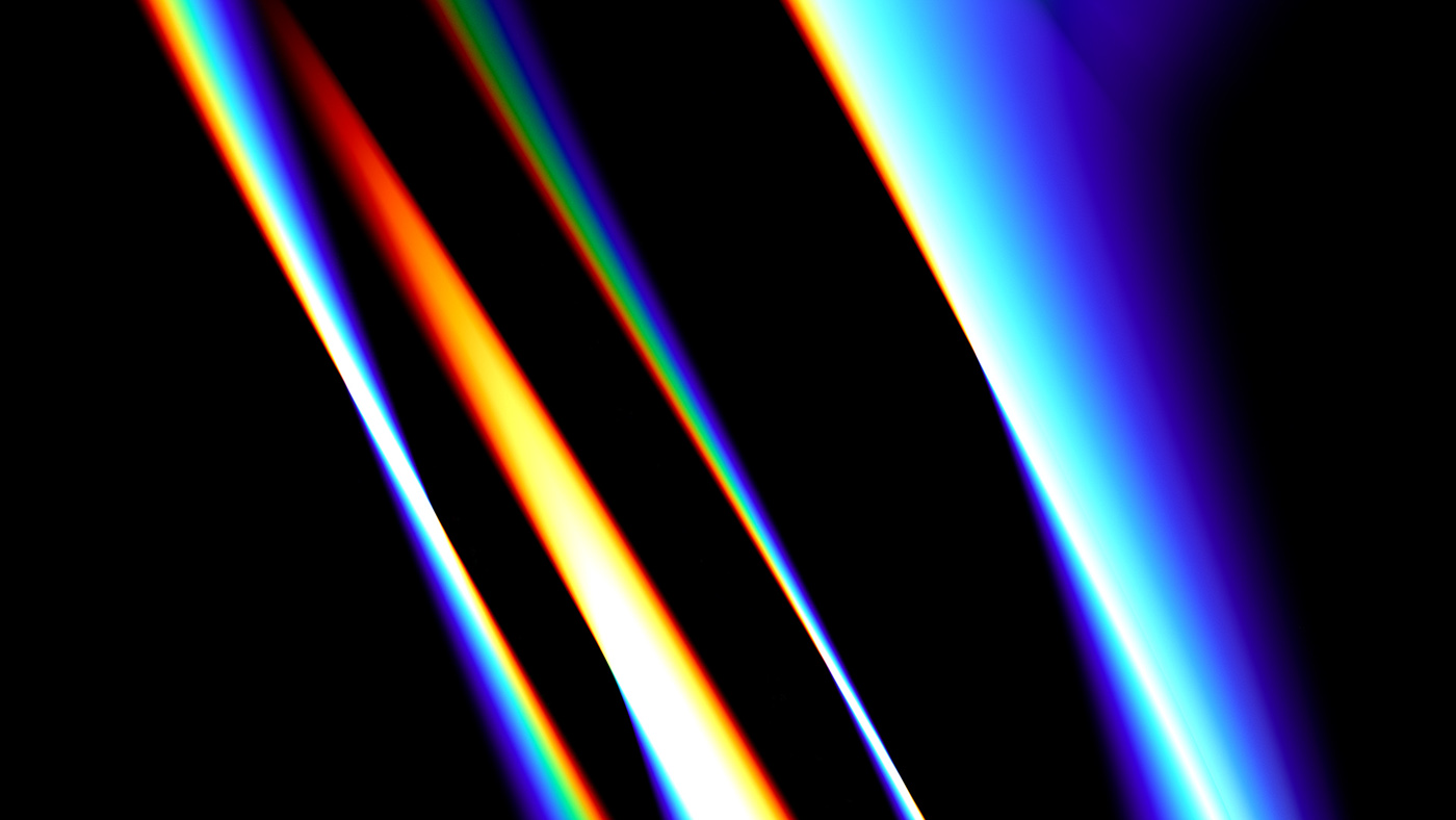 chroma chromatic glass light gradient Colos abstract movement Fashion  transitions