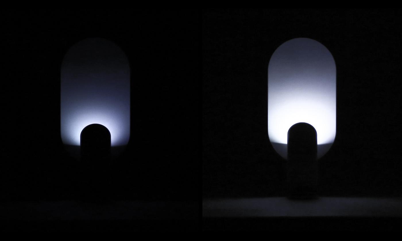 emotional design glass heart rate industrial design  light design meditation mental calming Nature product design  sensory design
