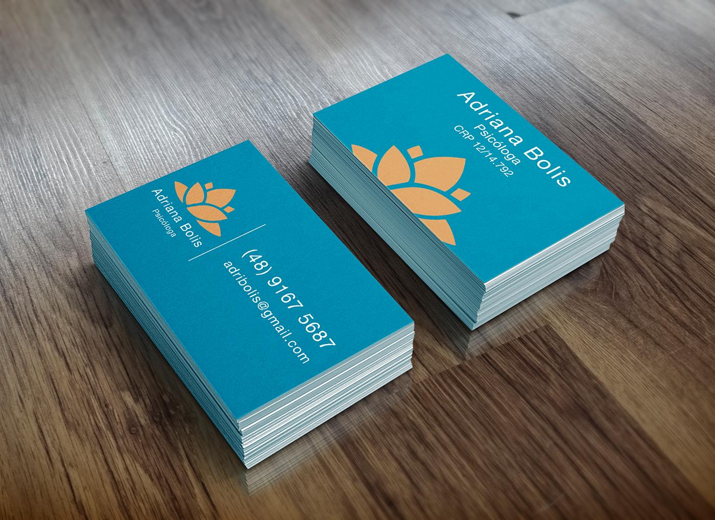 business cartão visita card psico Psicóloga psycho psychologist