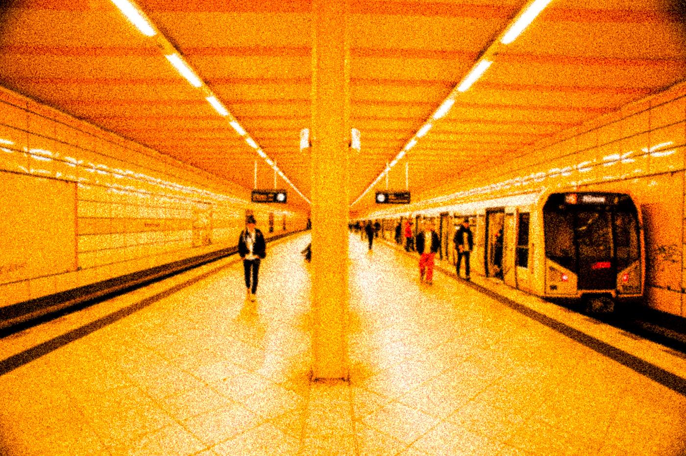 Image may contain: floor, platform and indoor
