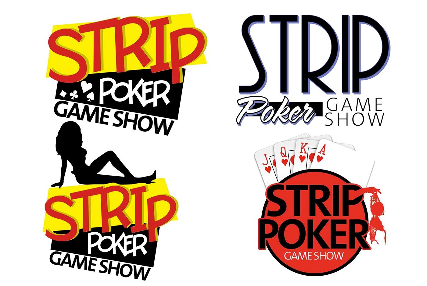 Virtual strip poker game