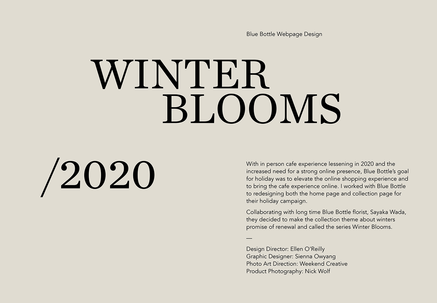 editorial webpage design