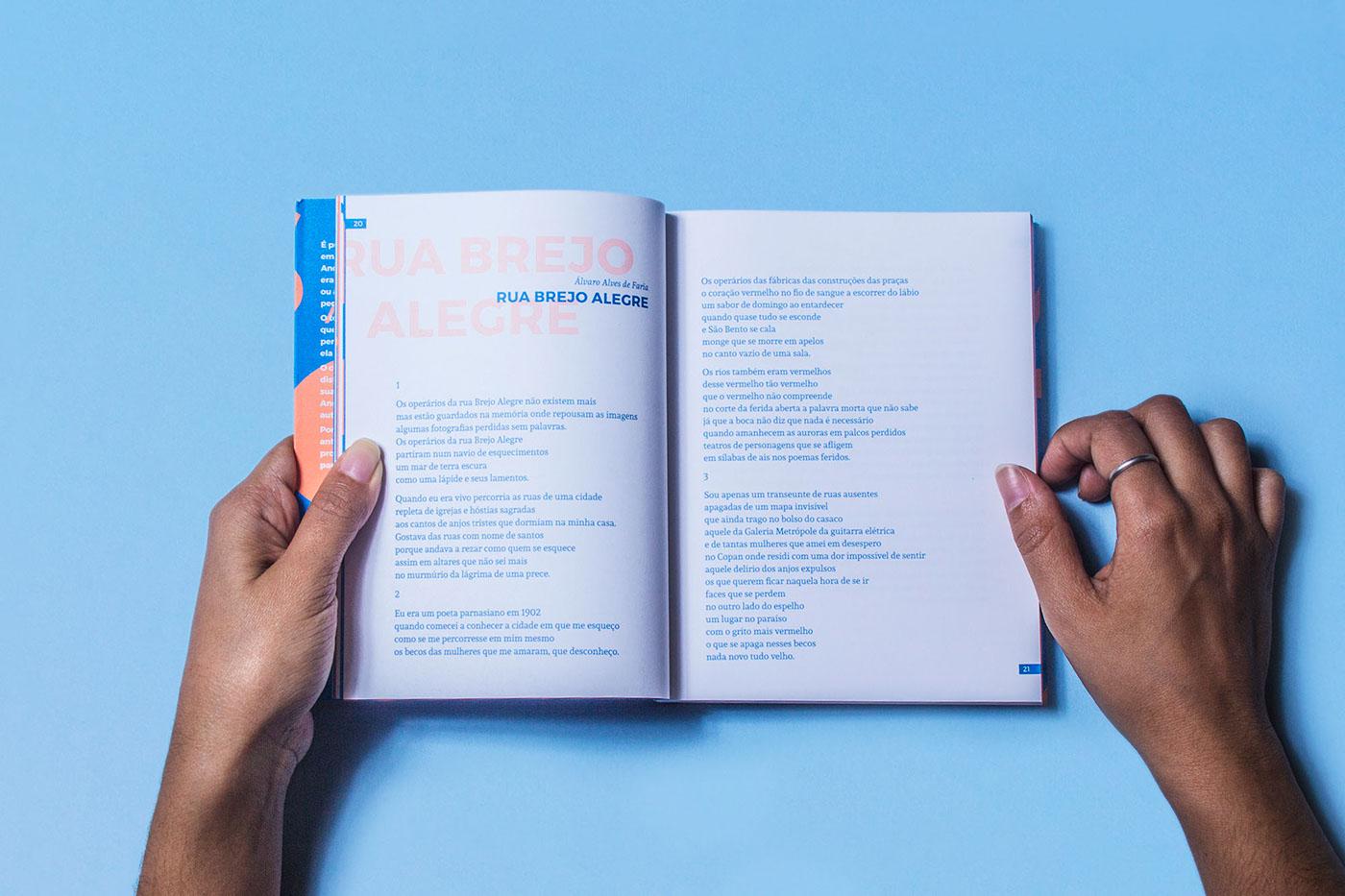 editorial book são paulo Poetry  typography   literature